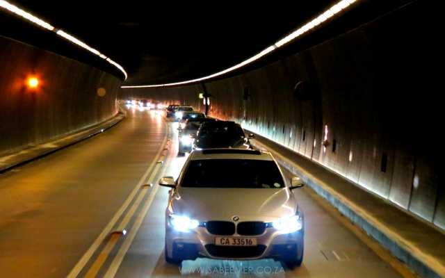 CAPE TUNNEL RUN BMW